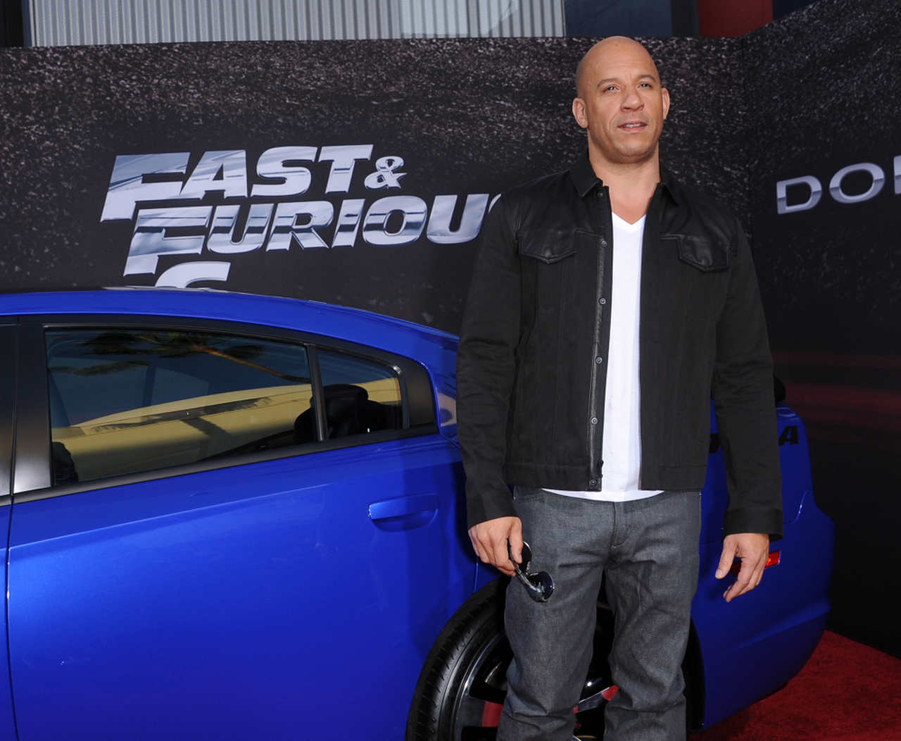 The actor Vin Diesel is the symbol of tuned cars in world cinema.